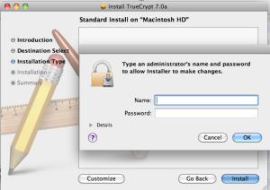 TrueCrypt Mac Install